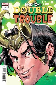 [Thor & Loki: Double Trouble #1 (Nauck Headshot Variant) (Product Image)]