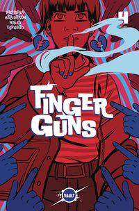 [The cover for Finger Guns #4]