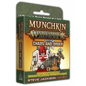 [Munchkin: Warhammer: Age Of Sigmar: Chaos & Order (Product Image)]