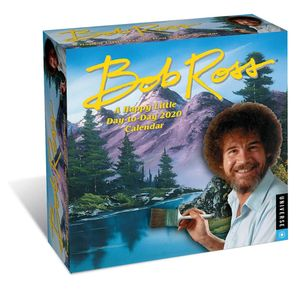 [Bob Ross: A Happy Little Day-To-Day: Calendar: 2020 (Product Image)]