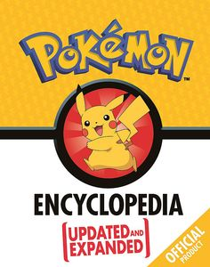 [The Official Pokémon Encyclopedia: Updated & Expanded (Hardcover) (Product Image)]