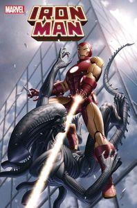 [Iron Man #5 (Yoon Marvel Vs Alien Variant) (Product Image)]