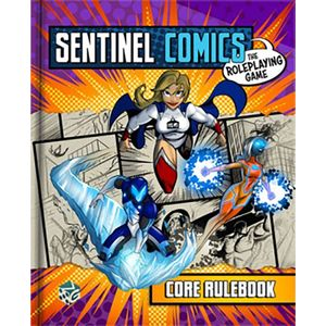 [Sentinel Comics: The Roleplaying Game: Core Rulebook (Product Image)]