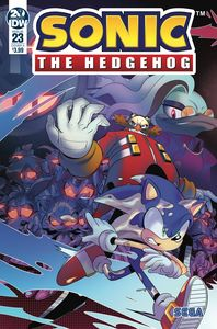 [Sonic The Hedgehog #23 (Cover A Tramontano) (Product Image)]