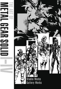 [The Art Of Metal Gear Solid I-IV (Hardcover) (Product Image)]