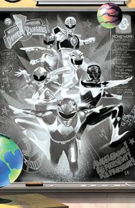 [Mighty Morphin #13 (Cover G Del Mundo Reveal Chalk Virgin Variant) (Product Image)]