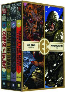 [EC Comics Four Slipcase: Volume 1 (Hardcover) (Product Image)]