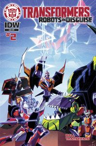 [Transformers: Robots In Disguise: Animated #2 (Subscription Variant) (Product Image)]