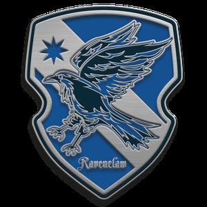 [Harry Potter: Enamel Pin Badge: Ravenclaw House Crest (Product Image)]