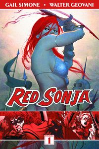 [Red Sonja: Volume 1: Queen Of Plagues (Product Image)]
