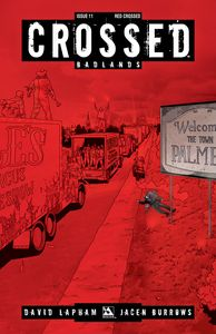 [Crossed: Badlands #11 (Red Crossed Variant) (Product Image)]