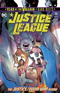 [Justice League #30 (YOTV Dark Gifts) (Product Image)]