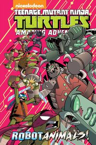[Teenage Mutant Ninja Turtles Adventures: Robotanimals (Hardcover) (Product Image)]