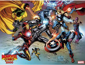 [Marvel Comics #1000 (Quesada Wraparound Variant) (Product Image)]