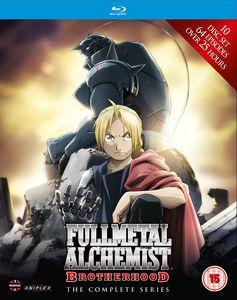 [Fullmetal Alchemist Brotherhood: Complete (Blu-Ray) (Product Image)]