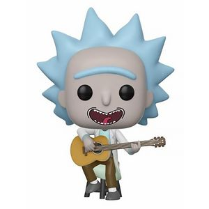 [Rick & Morty: Pop! Vinyl Figure: Tiny Rick With Guitar (Product Image)]