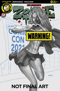 [Zombie Tramp: Ongoing #81 (Cover D Mastajwood Risque) (Product Image)]