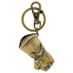[Avengers: Infinity War: Coloured Pewter Keyring: Gauntlet (Product Image)]