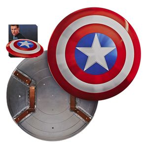 [Marvel Legends: 80th Anniversary Replica: Classic Captain America Shield (Product Image)]