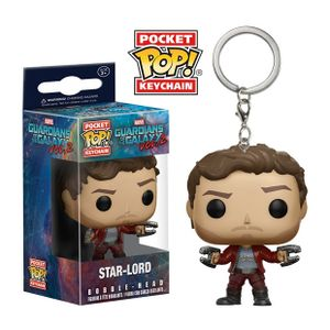 [Guardians Of The Galaxy Vol. 2: Pop! Vinyl Keychain: Star Lord (Product Image)]