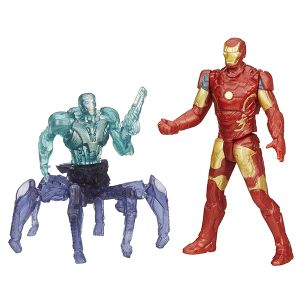 [Avengers: Age Of Ultron: Wave 1 Action Figures: Iron Man Mark 43 Vs Sub Ultron (2.5 Inch Version) (Product Image)]