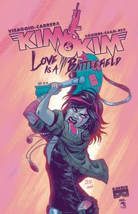 [The cover for Kim & Kim: Love Is A Battlefield #3]