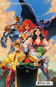 [Teen Titans Academy #2 (Cover B Philip Tan Card Stock Variant) (Product Image)]