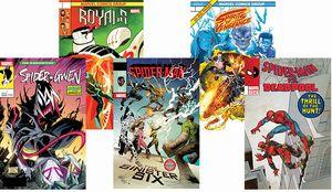 [Marvel Legacy: Lenticular 5 Pack (Set 6) (Product Image)]