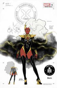 [Planet-Sized X-Men #1 (Dauterman Storm Design Variant) (Product Image)]
