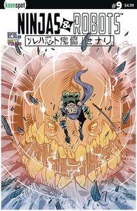 [Ninjas & Robots #9 (Cover C Horsman) (Product Image)]