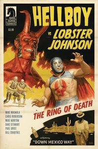[Hellboy Vs Lobster Johnson: Ring Of Death (Product Image)]