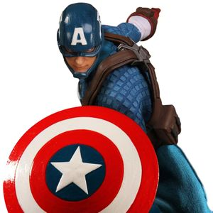 [Marvel Universe: One:12 Collective Figures: Captain America (Product Image)]