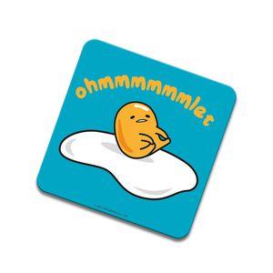 [Gudetama: Coaster: Ohhhmmmlet (Product Image)]