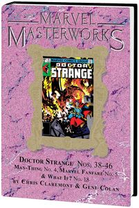 [Marvel Masterworks: Doctor Strange: Volume 8 (Hardcover - DM Variant) (Product Image)]