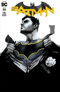 [Batman #50 (Forbidden Planet Exclusive - Jock Monochrome Variant) (Product Image)]