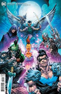 [Justice League #54 (Howard Porter Variant Edition Dark Nights Death Metal) (Product Image)]
