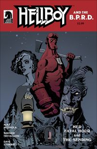 [The cover for Hellboy & B.P.R.D.: Her Fatal Hour (Cover A Trevallion)]