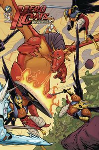 [The cover for Hero Cats #18 (Skyworld)]