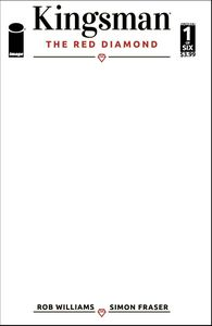 [Kingsman: Red Diamond #1 (Cover F Blank Sketch) (Product Image)]