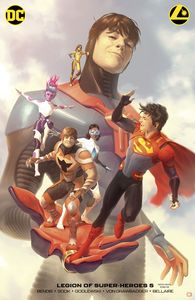[Legion Of Super Heroes #5 (Card Stock Alex Garner Variant Edition) (Product Image)]