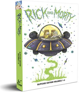 [Rick & Morty: Volumes 1-3 (Slipcase Hardcover) (Product Image)]