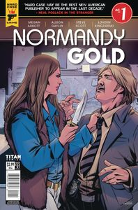 [Hard Case Crime: Normandy Gold #1 (Cover C Shi Bao) (Product Image)]
