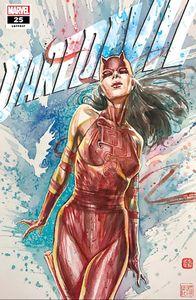 [Daredevil #25 (2nd Printing David Mack 'Elektra Daredevil' Variant) (Product Image)]