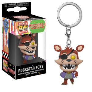 [Five Nights At Freddy's: Pocket Pop! Keychain: Pizza Sim Rockstar Foxy (Product Image)]