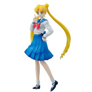 [Sailor Moon: Action Figure: Usagi Tsukino World Uniform Operation Pretty Soldier (Product Image)]