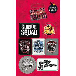 [DC: Suicide Squad: Sticker Pack (Product Image)]