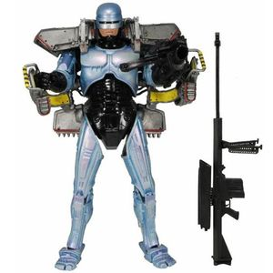 [Robocop: Ultra Deluxe Action Figure: Robocop With Jet Pack & Assault Cannon (Product Image)]