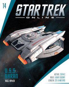 [Star Trek Online Starships #14: Shran-Class Federation Light (Product Image)]