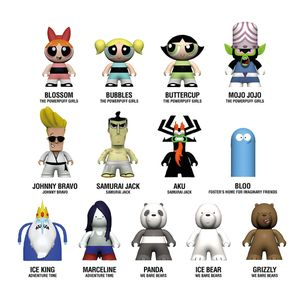 [Cartoon Network: TITANS: Townsville Collection: Powerpuff Girls (Complete Display) (Product Image)]