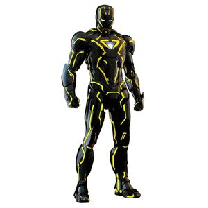 [Iron Man 2: Hot Toys Die Cast Action Figure: Neon Tech Iron Man (Product Image)]